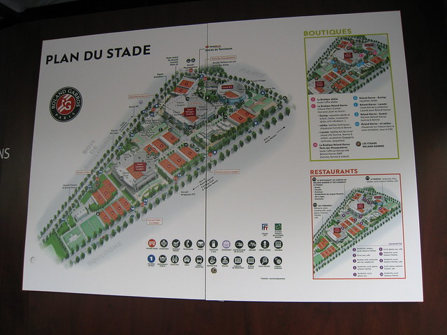 French Open Map