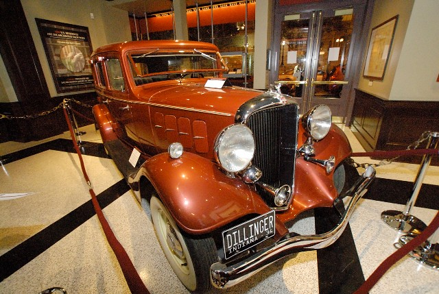 John Dillinger's Car - National Museum of Crime & Punishment