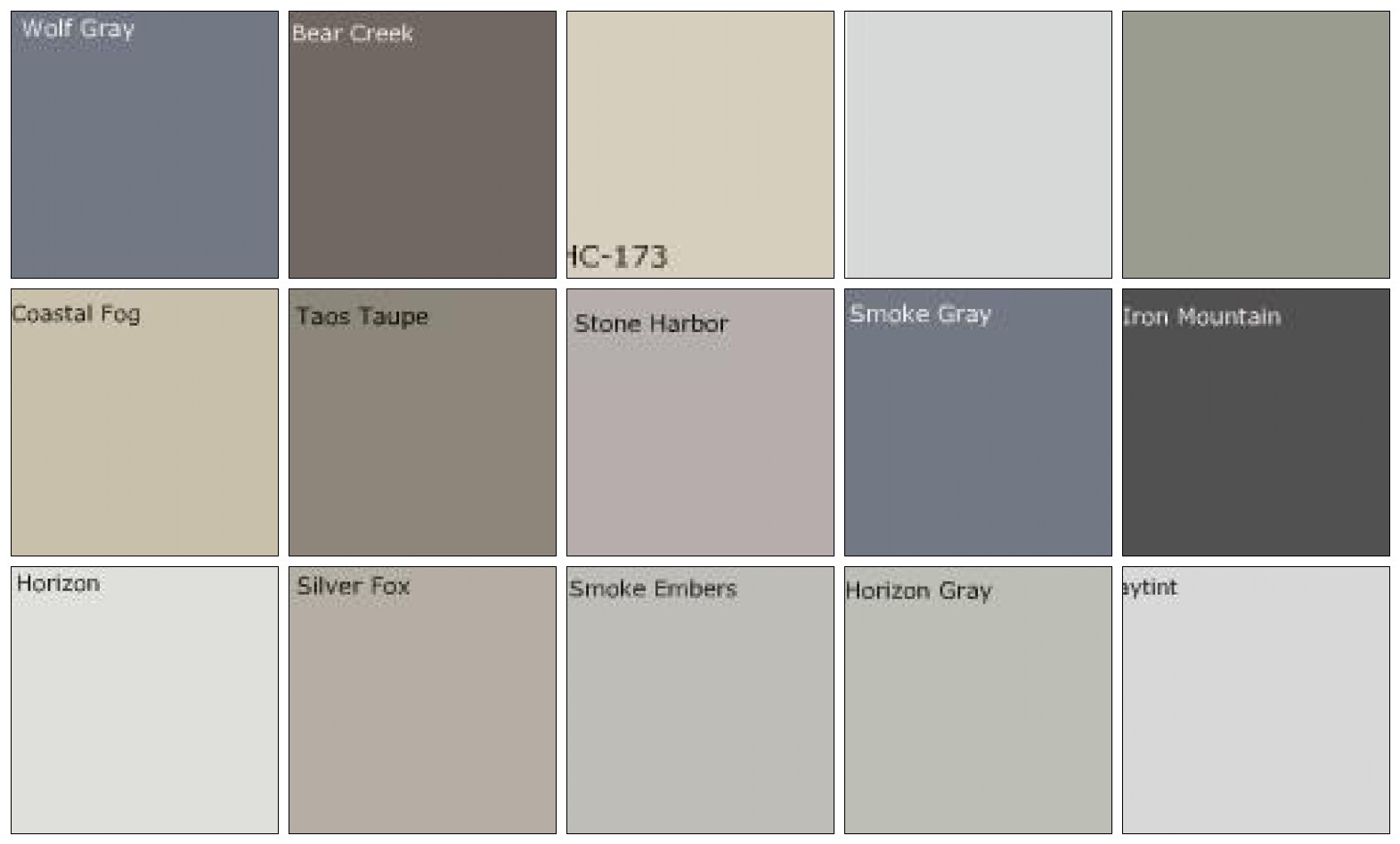 Favorite room paint colors joanna gaines fixer upper magnolia fixer