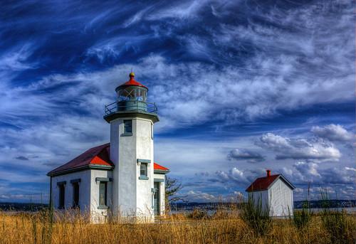 Pt Robinson Lighthouse HDR 4155