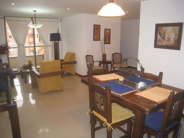 Dave's first apartment in Envigado