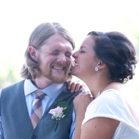 Ally & James' crafty country bike-themed wedding