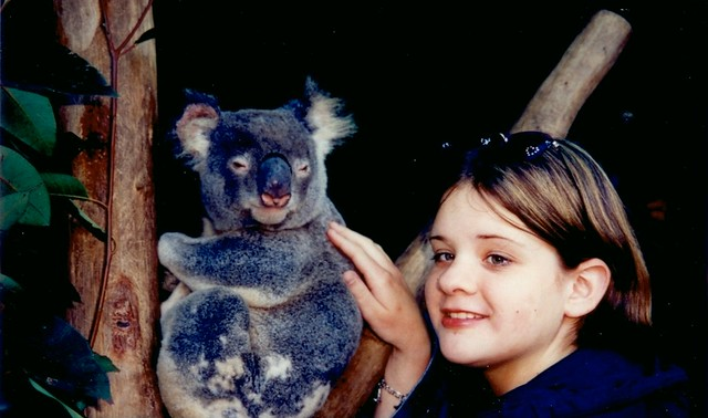 Kids and animals in Australia