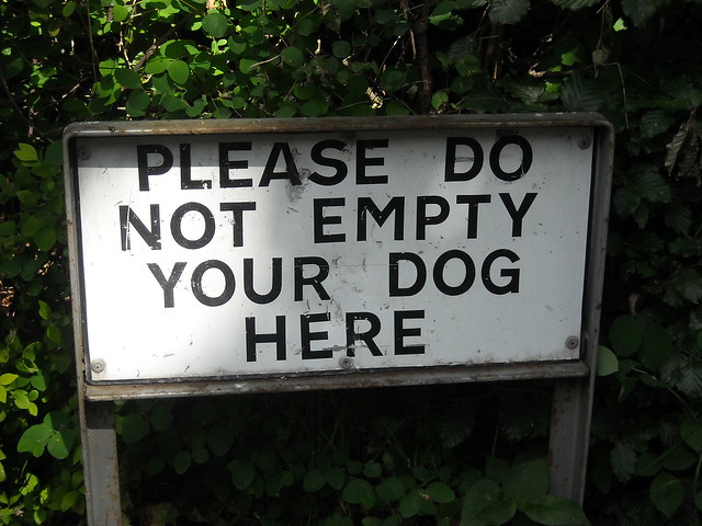 What a funny sign this is!