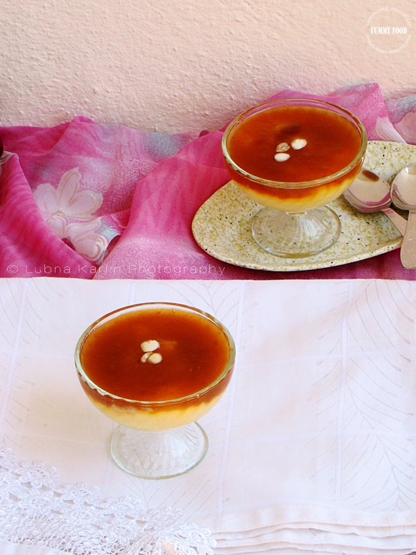 Qubani ka Meetha/Apricot Sauce with Custard