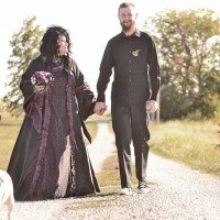 Cristin & Frank's Nightmare Before Christmas wedding