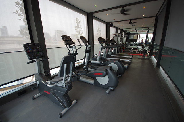 fitness center - holiday inn express singapore clarke quay