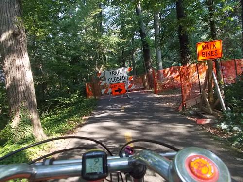 Detour on the MVT