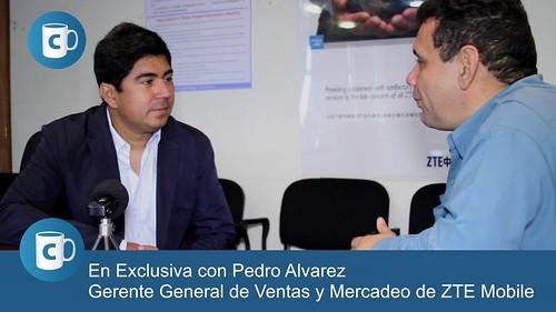 Antonio Da Silva Campos Pedro Alvarez, Gerente Senior General de Ventas y Mercadeo de ZTE Venezuela