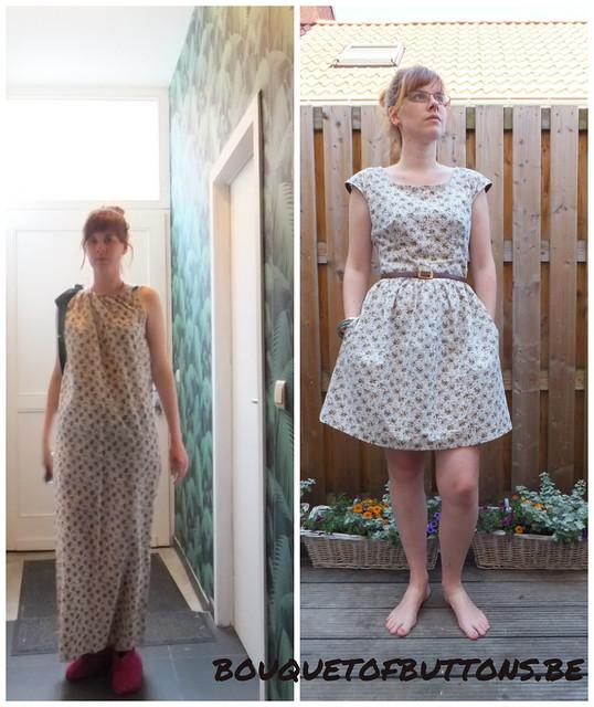 elisabeth gathered waist dress