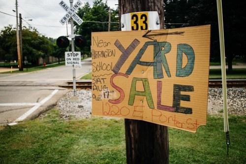 8/22/13 - Yard Sale