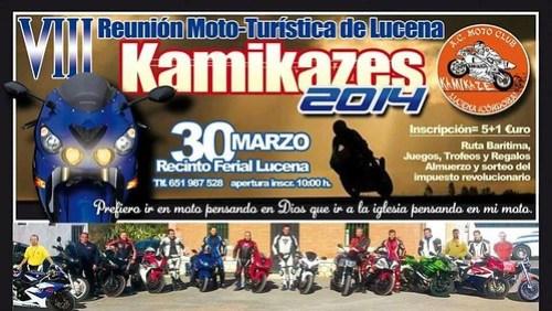 VIII Reunión Moto-Turística Kamikaces - Lucena