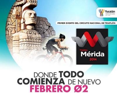 Triatlón Mérida 2014
