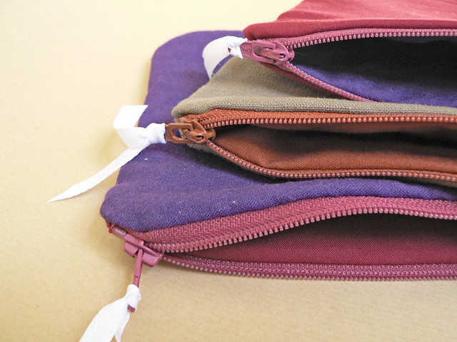 nutnut goods zippered pouches