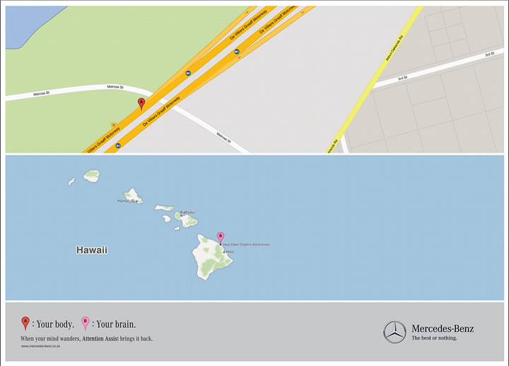 Mercedes Map Hawaii