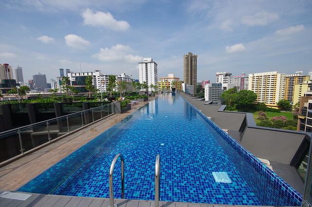 swimming pool - holiday inn express singapore clarke quay