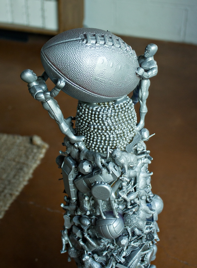DIY Fantasy Football Trophy
