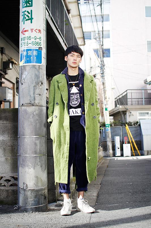 Drop Tokyo Street Style - Area- Harajuku,Tokyo | 原宿,東京 Name- Odabutsu | オダブツ