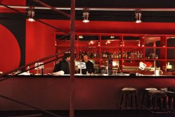The bar   The Fox Cabaret