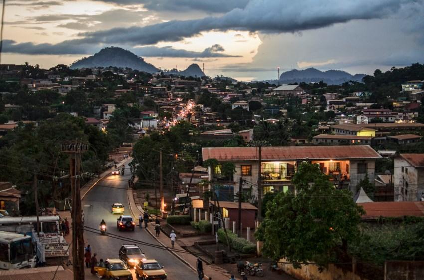 Yaondé, Camarões. Foto do  Ludwig Tröller