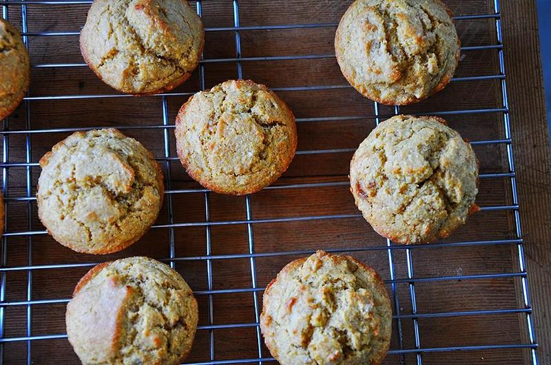 Pumpkin Corn Muffins {Dairy-Free}