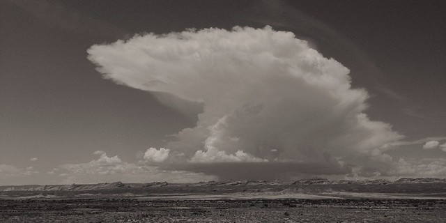 High Desert Thunderhead, US-6, Utah, 2013