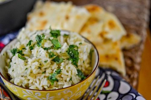 Cilantro Garlic Lime Rice-8