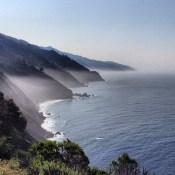 Heading south past Big Sur