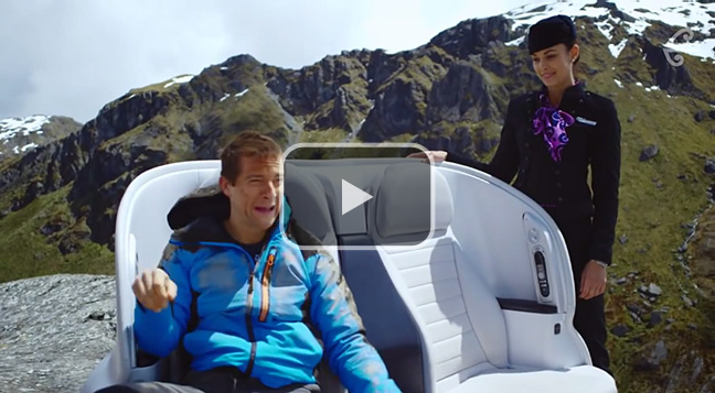 Air New Zealand's 'The Bear Essentials of Safety' air safety video.