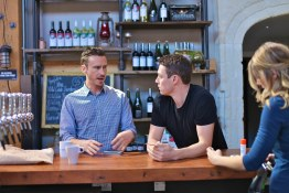 Postmark Managing Director Nate Raylent and Settlement CEO Mike Macquiston on the bar | The Settlement