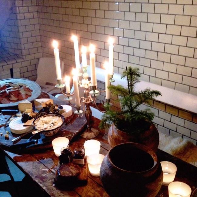 julmarknad och vernissage hos atelier54