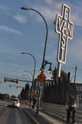 Ken Lum's East Van Cross