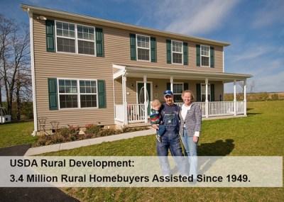 With USDA Housing Programs, 3.4 Million Rural Homebuyers Own Their Future | USDA