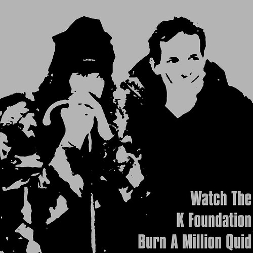 Watch The K Foundation Burn a million quid