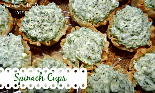 Spinach Cups5