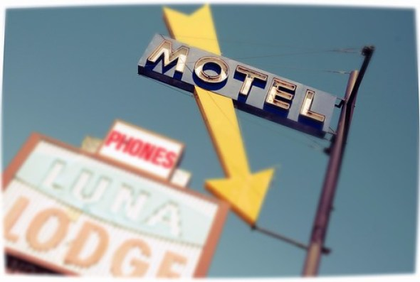 9013303592 a3180ef49e Route 66 Luna Lodge Motel Signs Street Albuquerque New Mexico Nob Hill