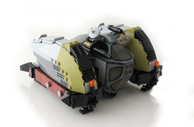 TurtleDove Spacecraft.