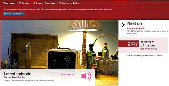 Perceptive Media on BBC Click