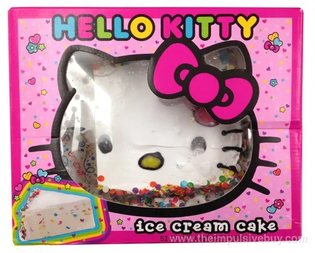 Hello Kitty Ice Cream Cake