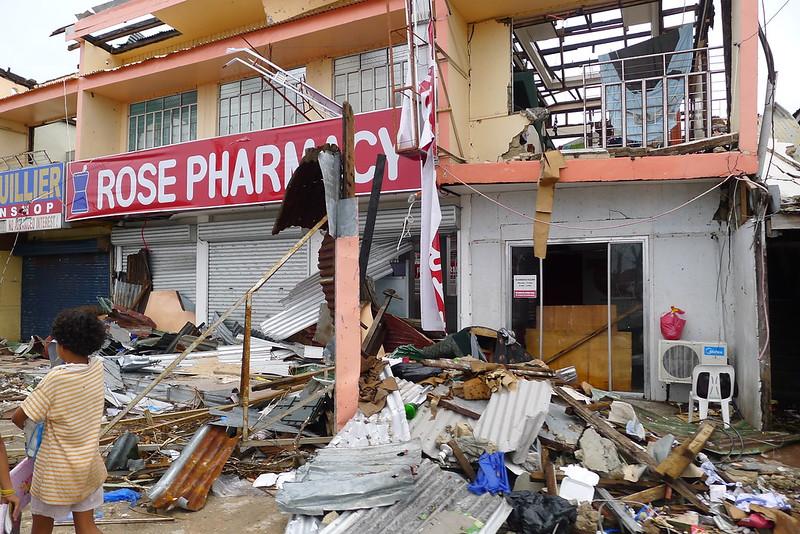 Guiuan after Typhoon Yolana