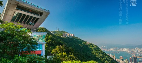 【香港】。不可不看的百萬夜景,也是必來香港朝聖的景點之一 【太平山凌宵閣】