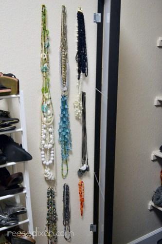 Mirror Jewelry Organizer