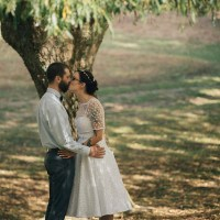 Jay & Pepe's rural crafty New Zealand wedding