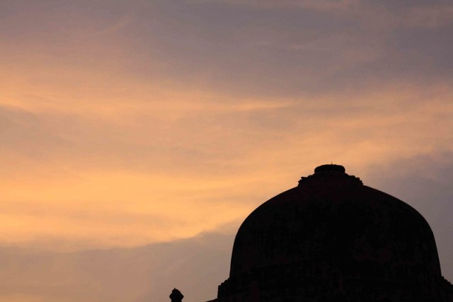 Twilight in Delhi