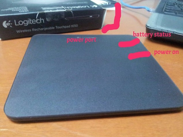 Toshiba Touchpad T650