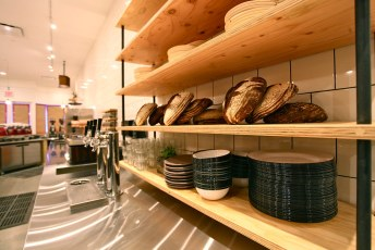 Test loaves in the kitchen (the part we don't see)