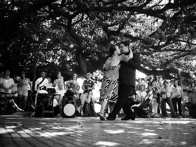 Tango Dancers Recoleta
