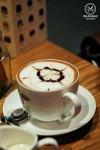 Sydney Food Blog Review of Koko Black, Sydney CBD: Cinnamon Hot Chocolate