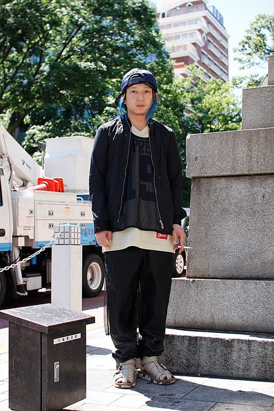 Drop Tokyo Street Style - Area- Harajuku,Tokyo | 原宿,東京 Name- Nobusuke Yoshioka | 吉岡申祐