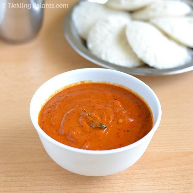Spicy Garlic Tomato Chutney